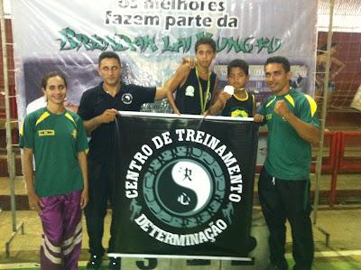 Academia determinação é destaque em campeonato estadual de Kung-Fu
