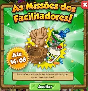 Missão: Ganhe Facilitadores