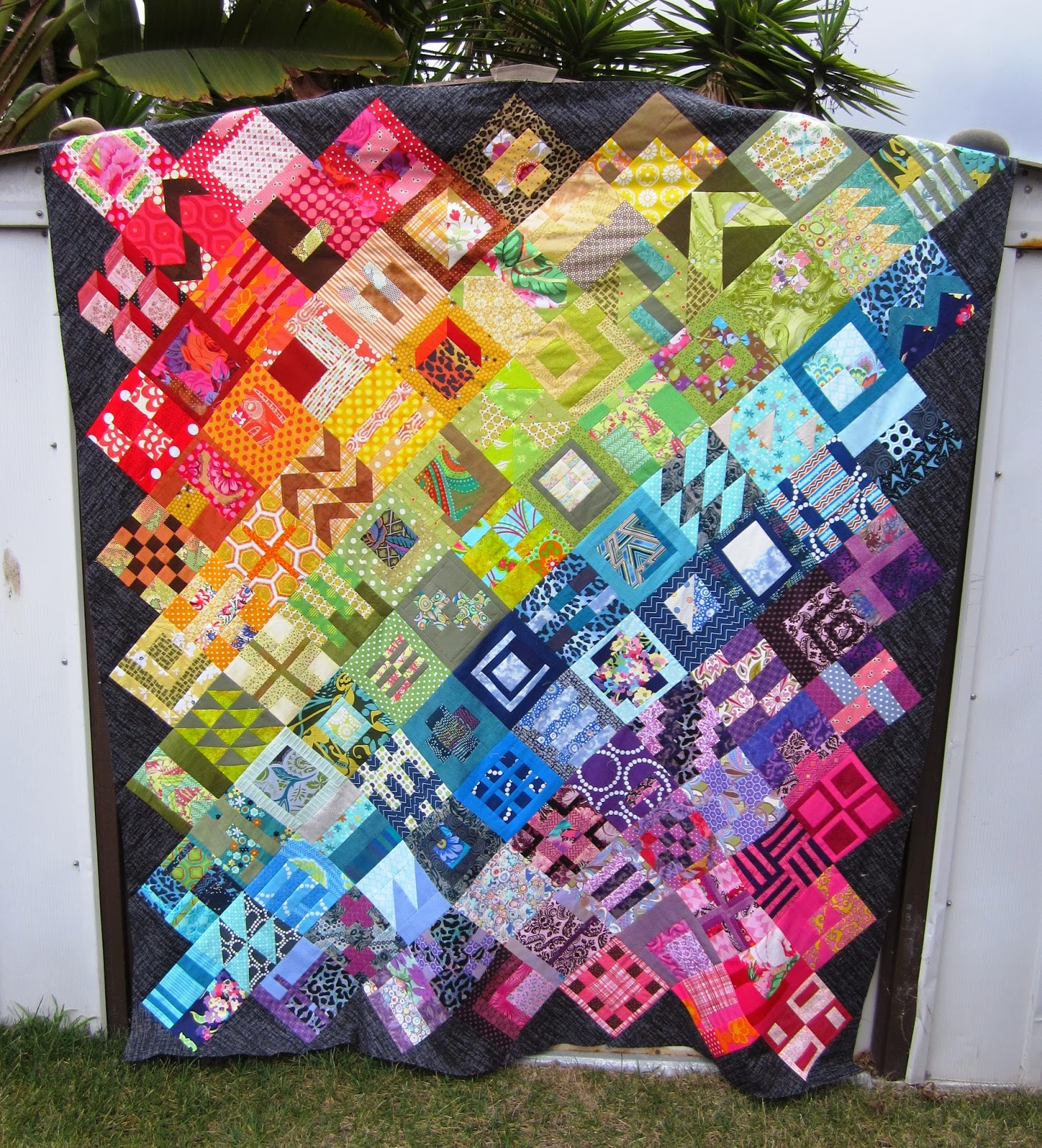 Tula Pink's City Sampler Quilt