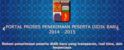 Portal PPDB Online Kota Bogor