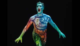 Festival Bodypainting Dunia 2012