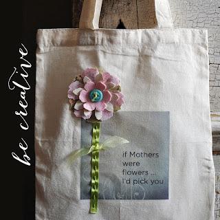 iron on transfers on canvas bag tutorial on Creative Bag's blog