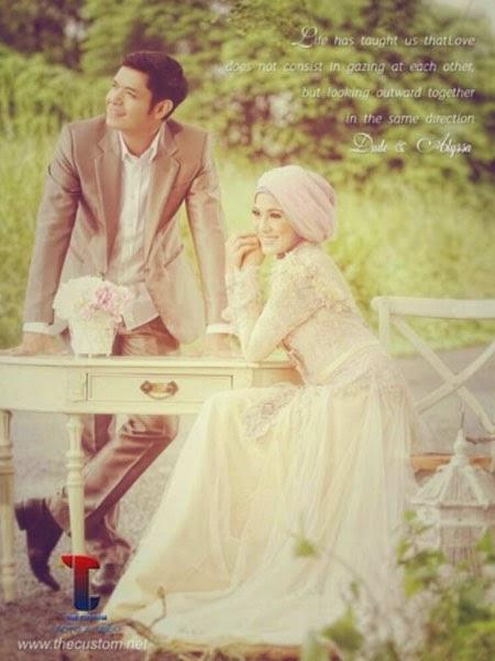 Pernikahan Dude dan Alysa