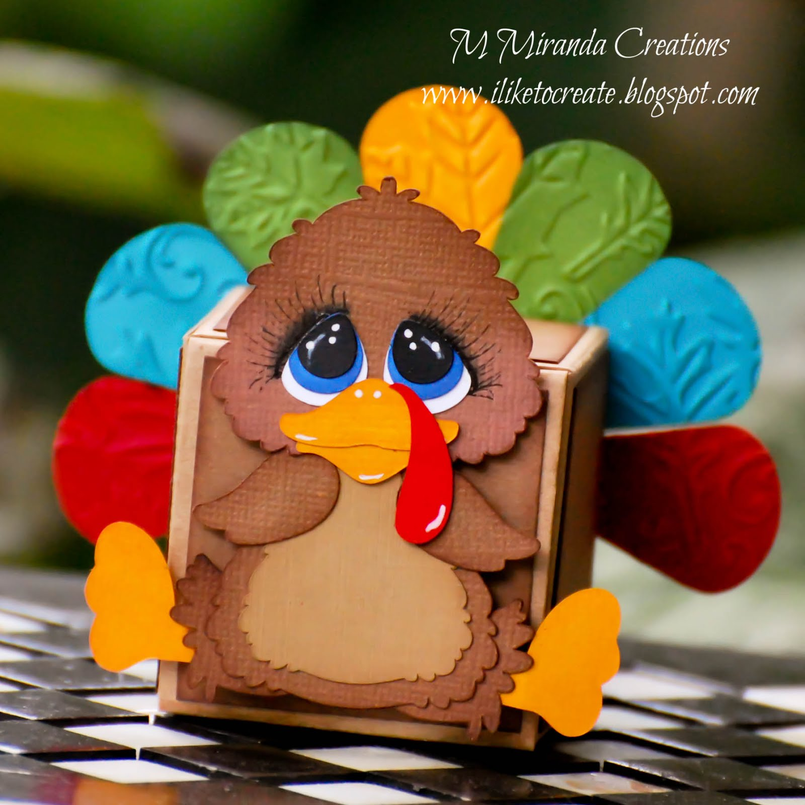 Little Turkey Gift Box