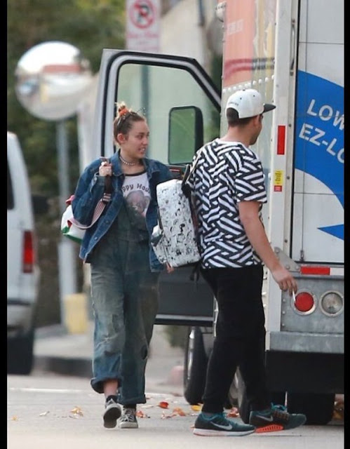 Miley Cyrus pudo haberse mudado a la casa de Liam Hemsworth.