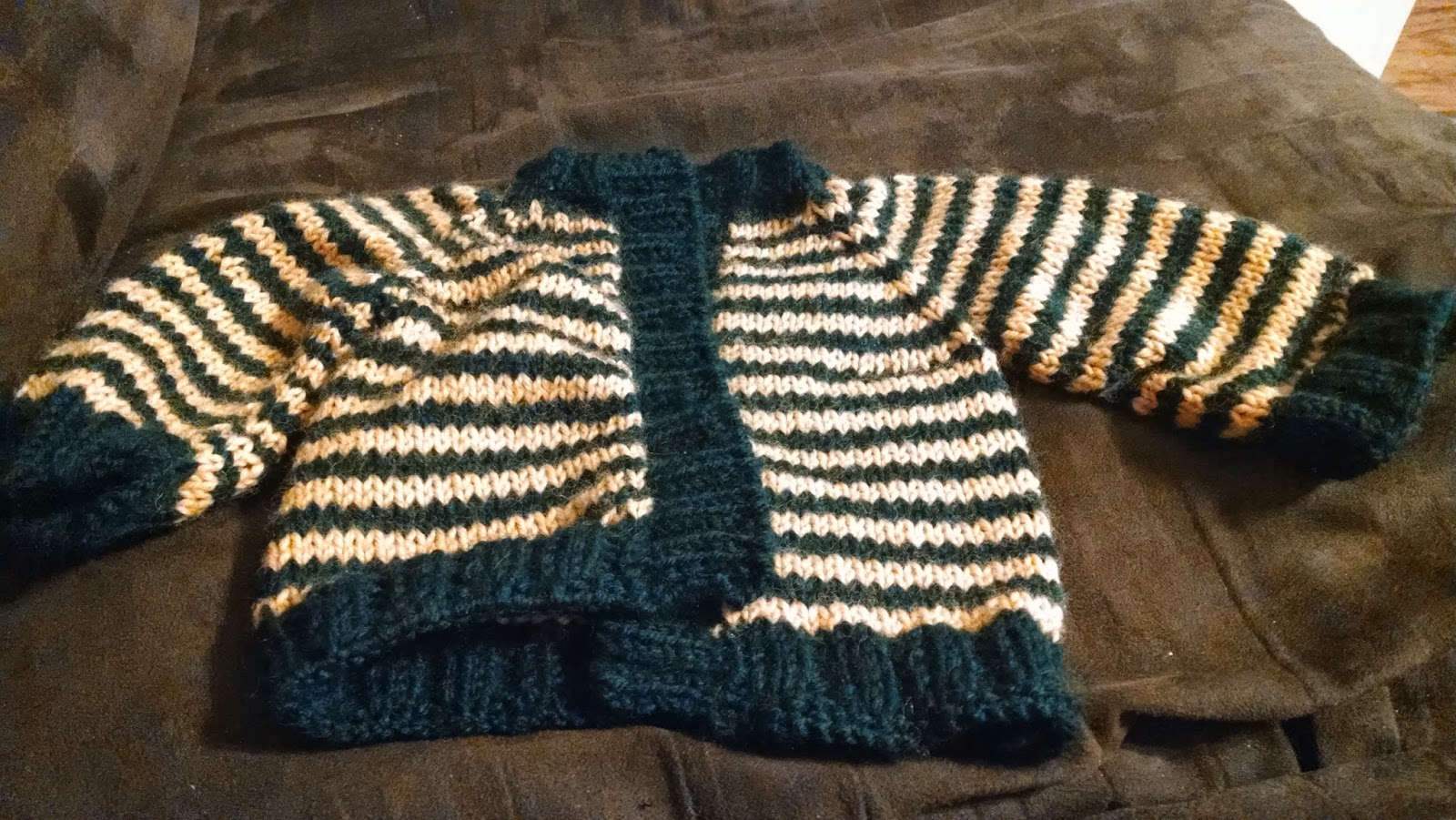 Little Coffee Bean Cardigan