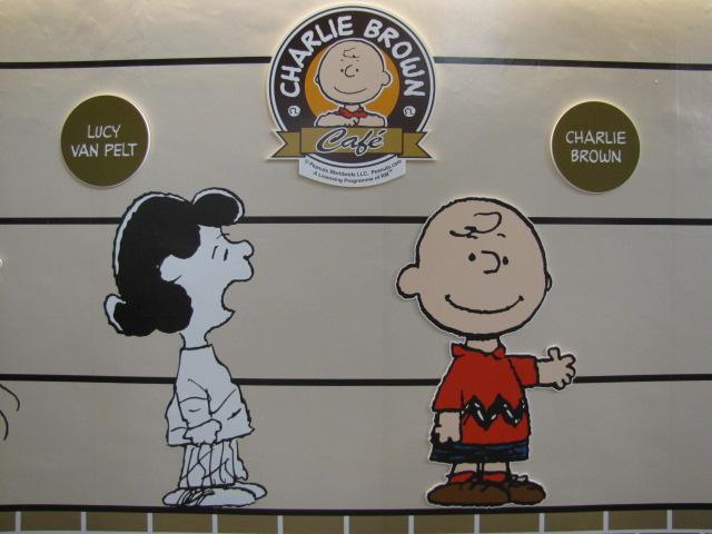 Cartoon Cafe in Penang Charlie Brown Cafe Penang