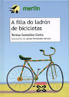 Cuberta do libro A filla do ladrón de bicicletas
