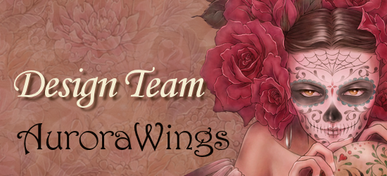 I'm a designer for Aurora Wings!