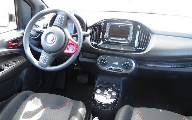 Fiat Uno 2016 Dualogic - painel