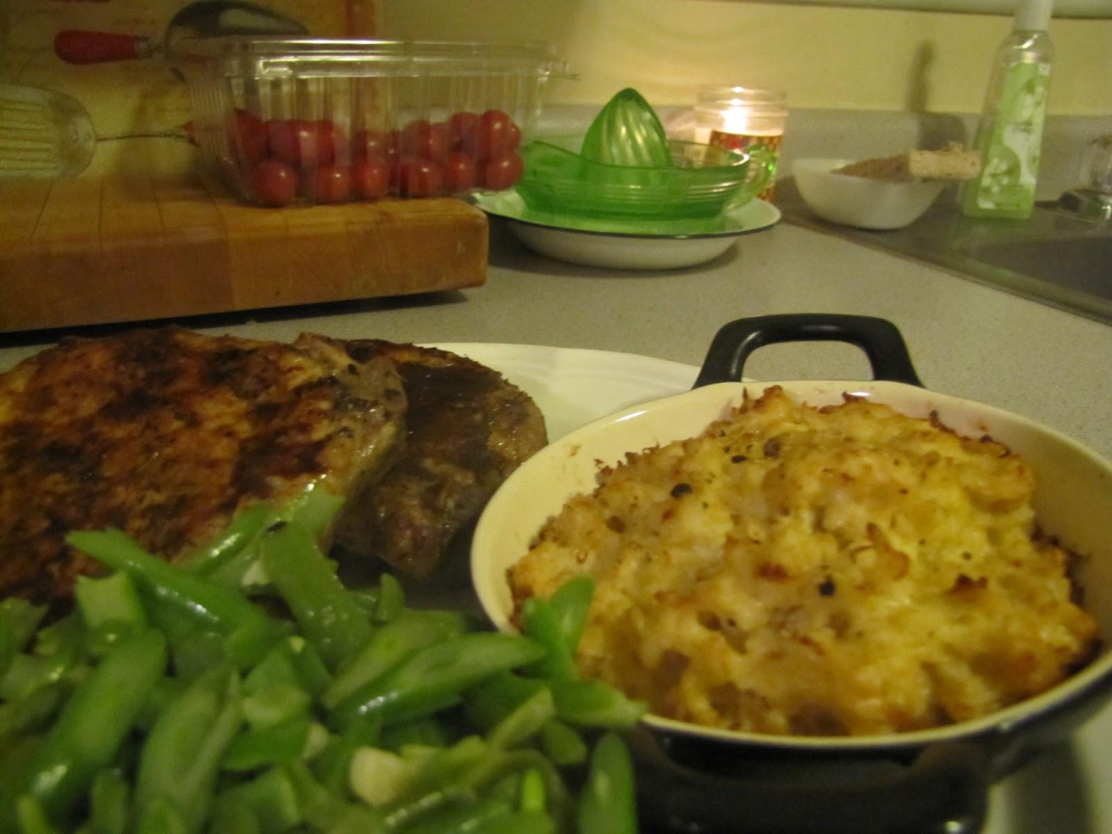 Olive Oil, Garlic & Romano Cheese Mashed Cauliflower ~ Faithfulness ...