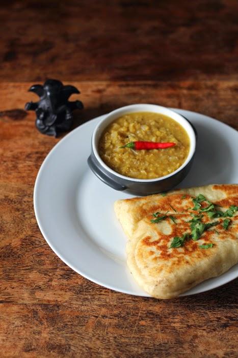 Butter Naan und Masoor Dal