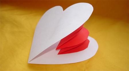 Как сделать валентинки своими руками из бумаги