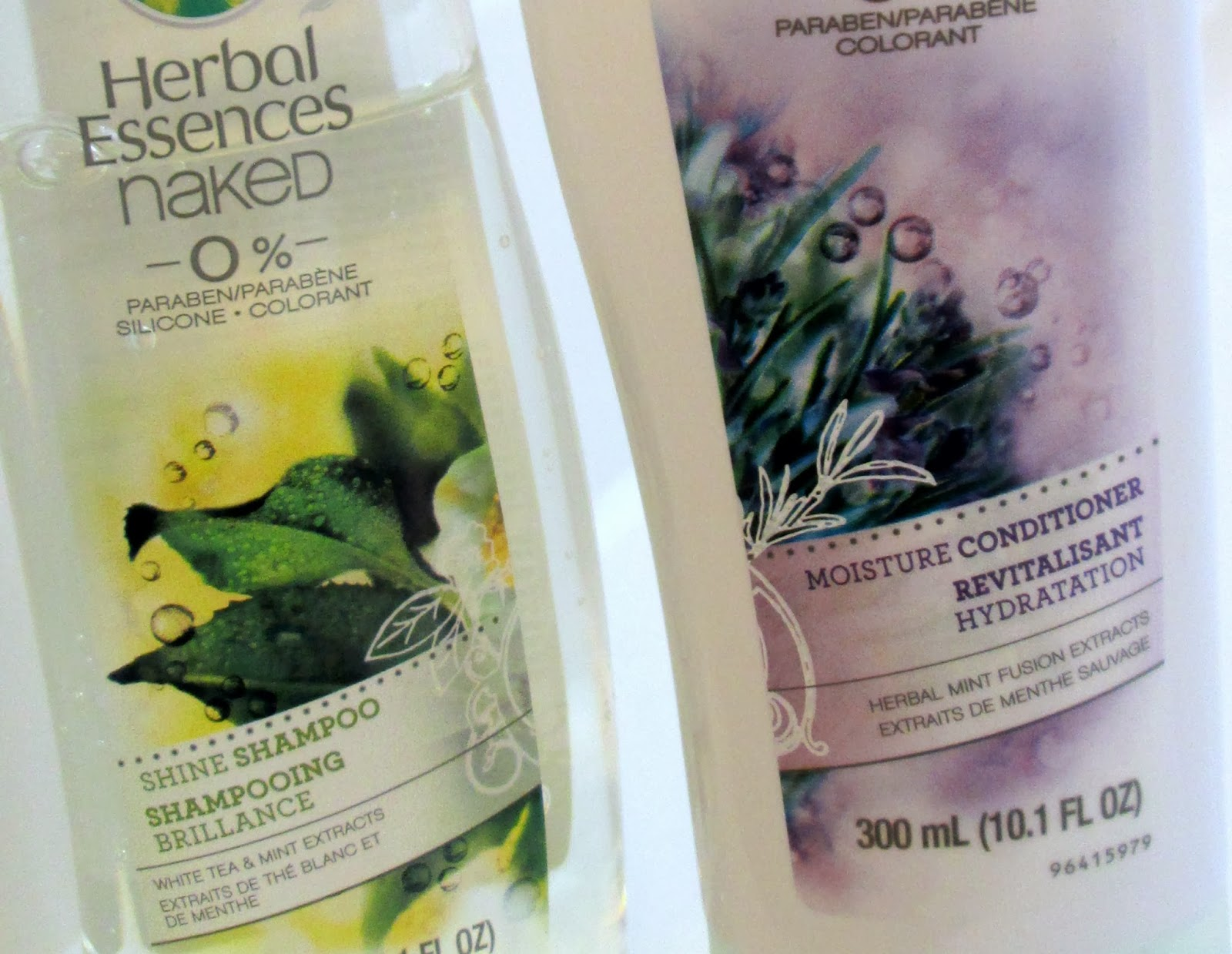 Herbal Essences naked Shampoo and Conditioner Paraben Free
