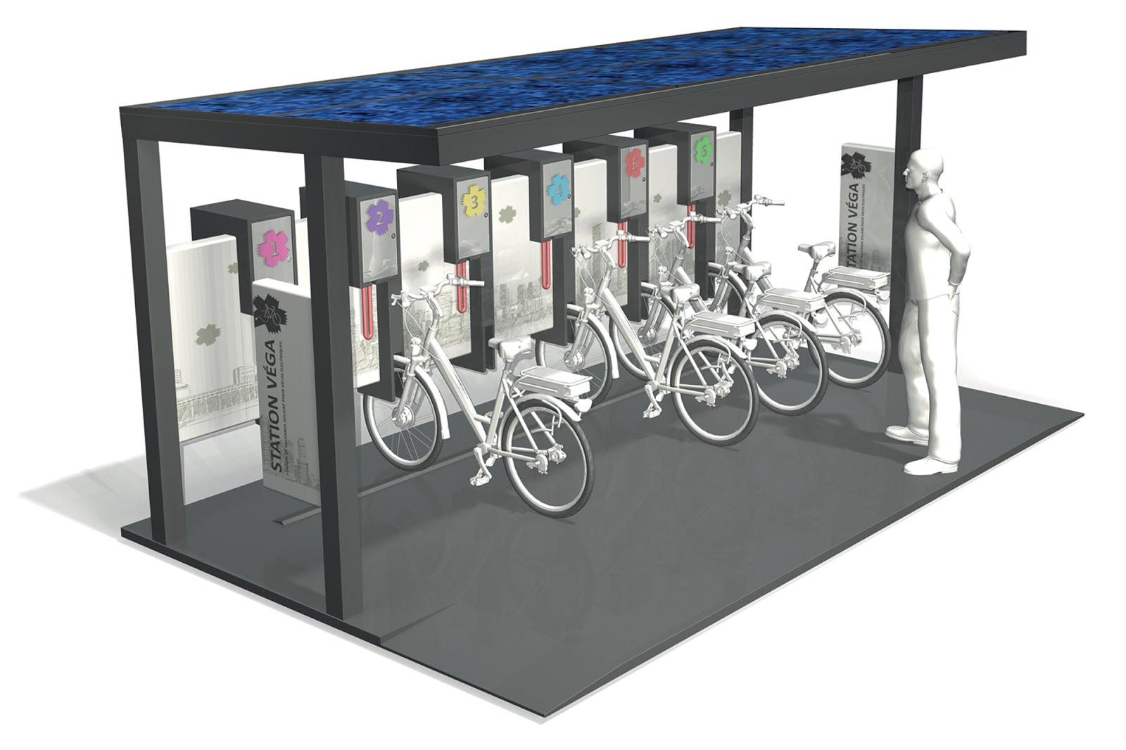 Energía solar y bicis eléctricas