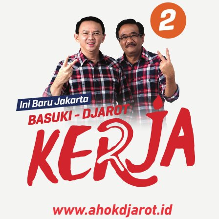 Follow : @ahokdjarot