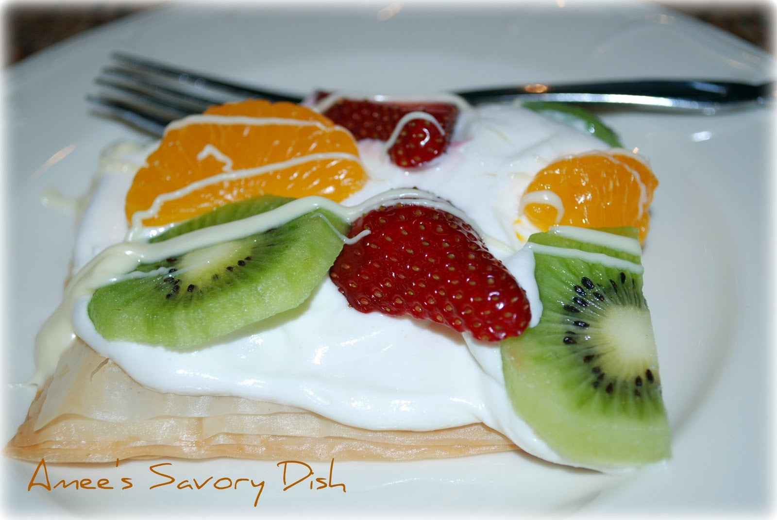 Phyllo Fruit Tart