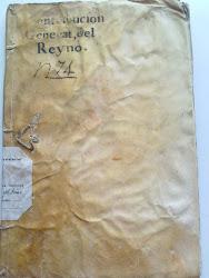 Contribución General del Reyno. Navas de Sn Juan, 1819