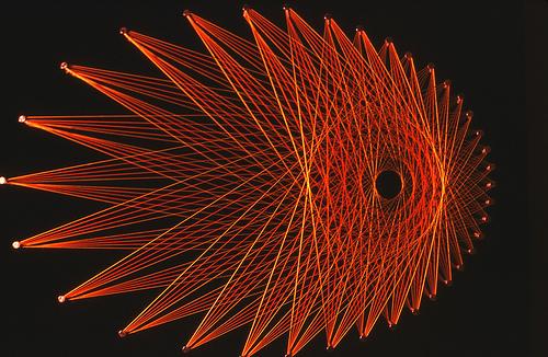 STRING ART - Giorno dopo Giorno | Foto dal Web : Arte particolare