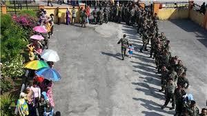 polis,tentera mengundi