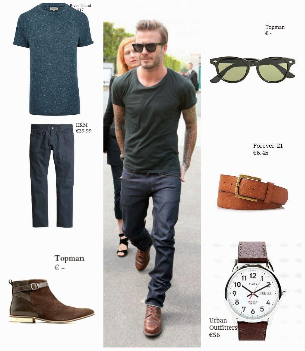 The David Beckham Look Book - GQ