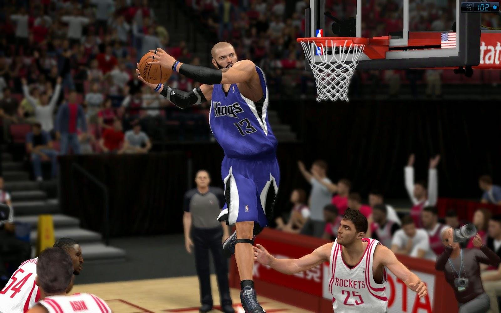 تحميل لعبة كرة السلة للاندرويد Download NBA 2K14