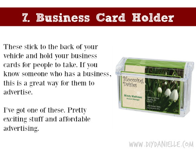 Holiday Gift Idea for Adults: Business Card Holder