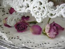Vackert med torkade rosor