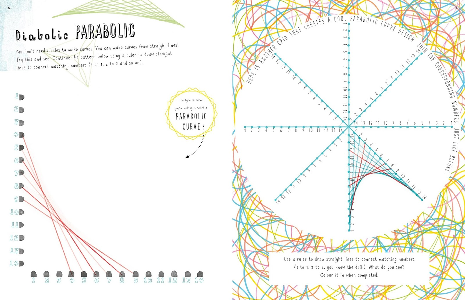 Line Designs Art Worksheets : This is not a maths book smart art activity by