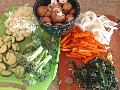 Sweet & Sour Veggies