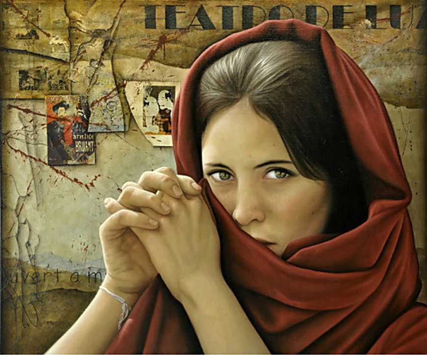 Santiago Carbonell 1960 | Realist and Visionary painter