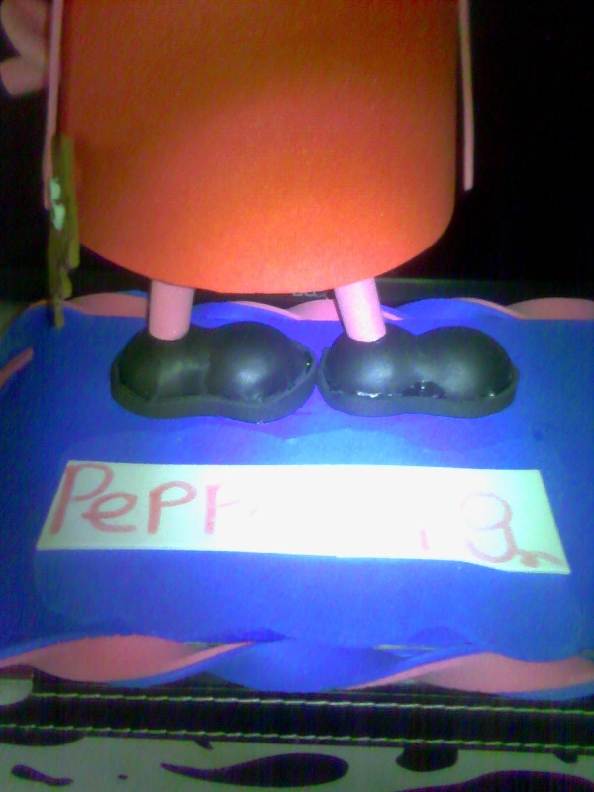 La casa de las fofuchas: Fofucha Peppa Pig
