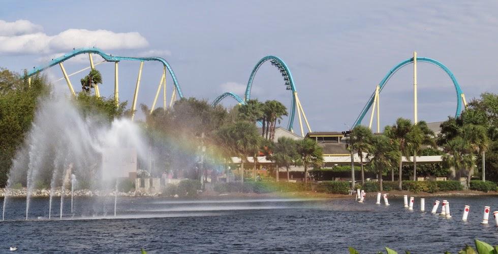 Nova montanha russa do SeaWorld Orlando virá em 2016