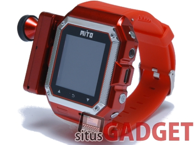 Mito S500, Handphone unik berbentuk jam tangan