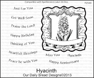 Our Daily Bread Designs, Hyacinth