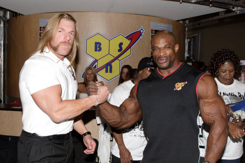 Ted Arcidi Bench Press Part - 16: Triple H Eats Frequently To Keep His Metabolism High, A Strategy Followed  By Most Bodybuilders. Incline Bench Presses.