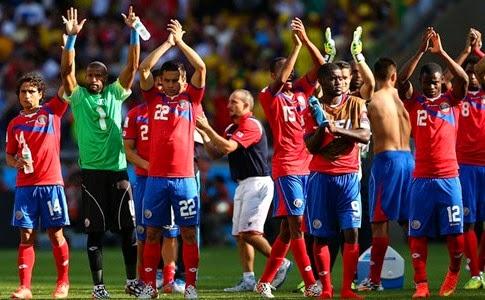 Kosta Rika vs Yunani