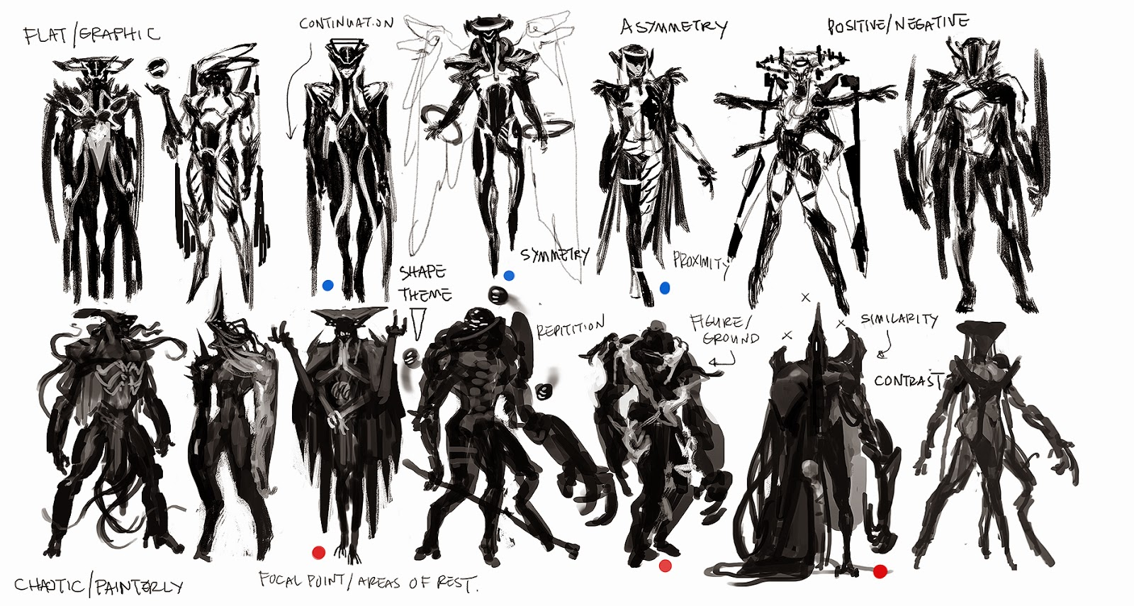 Character Concept Design Process : Cireisdead character design at otis demos and lecture stuff