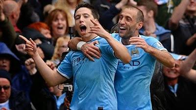 Manchester City vs West Ham United(2-0)Vòng 38 Ngoại Hạng Anh 2013-2014