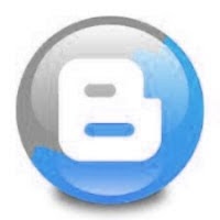 blogger blue logo