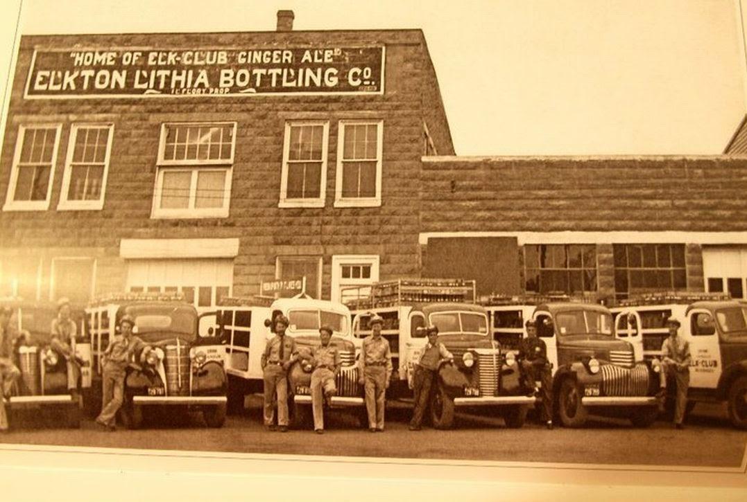 Elkton Lithia Bottling Company, Elkton, VA 1941