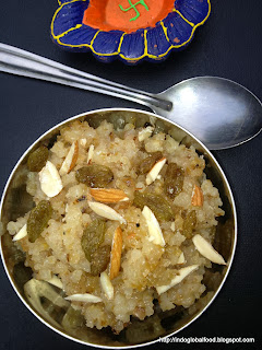 fada lapasi cracked wheat halwa