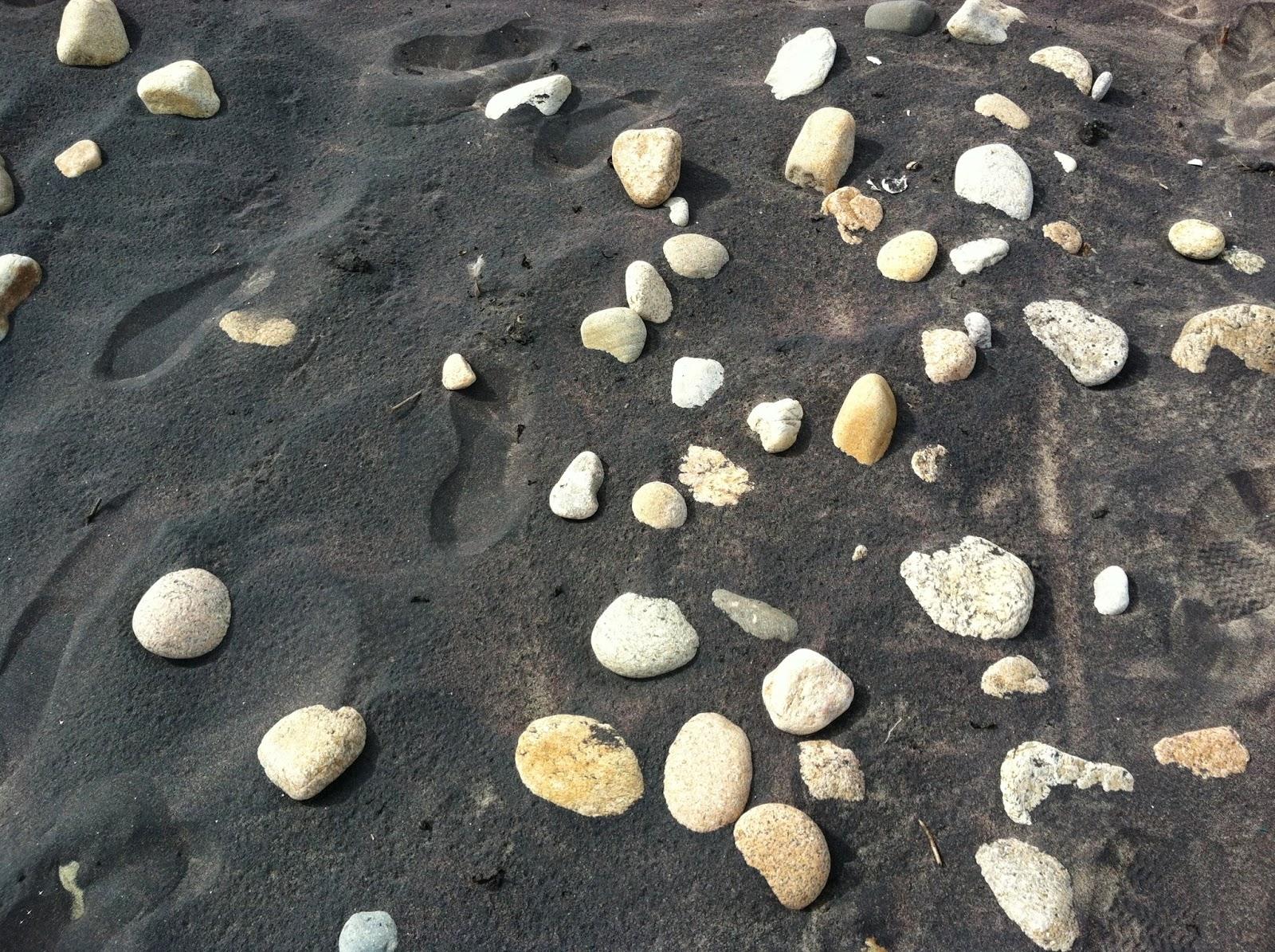 Black Beach Sand