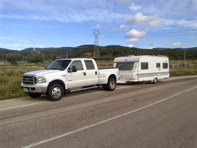 5th wheel, caravan and trailer towing service