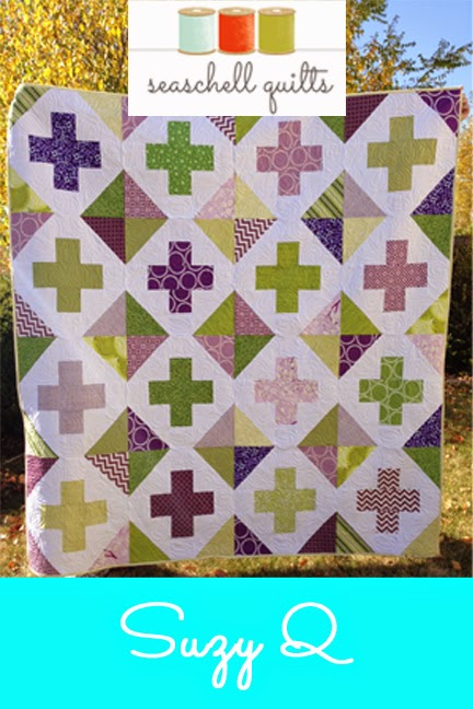 Suzy Q Quilt on Craftsy
