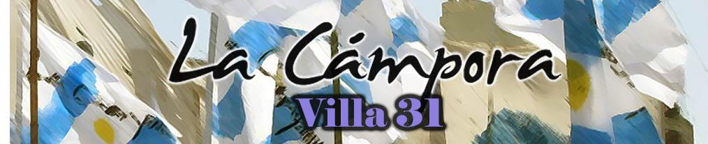 La Cámpora Villa 31