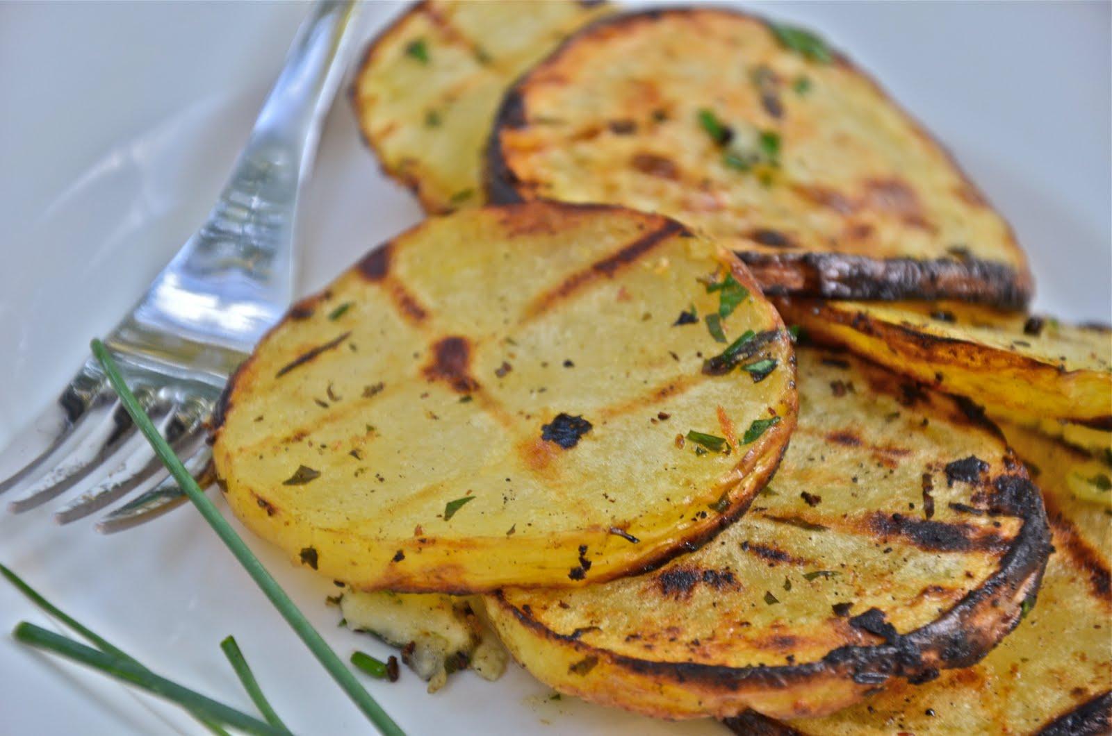Grilled Herb Potatoes Recipe — Dishmaps