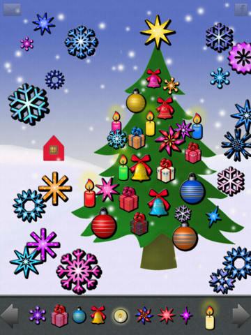 123 decorate your christmas tree - Free Christmas Apps