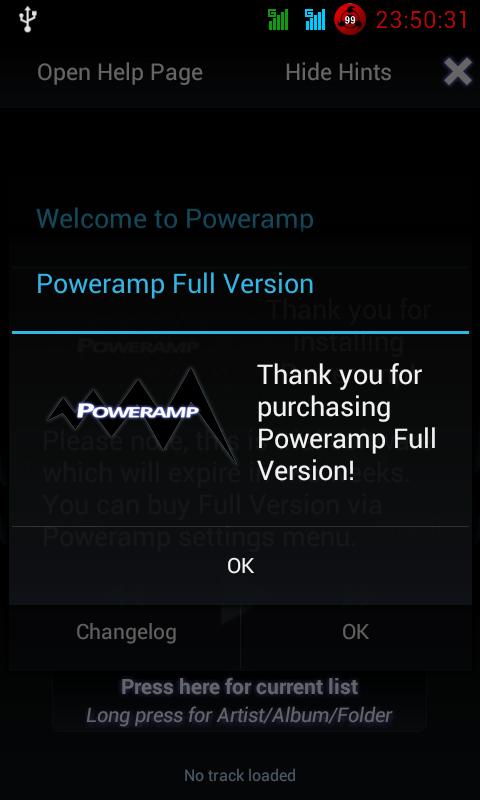 Poweramp-Full Version v3 build 806 play Cracked Apk (NO ROOT)