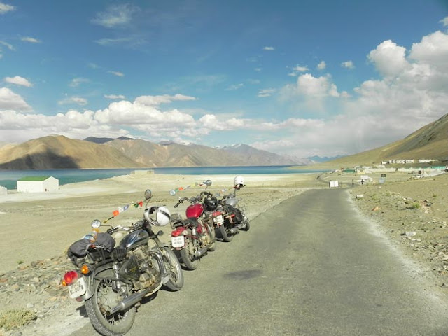 Pangong Tso Lake, Ladakh by Road
